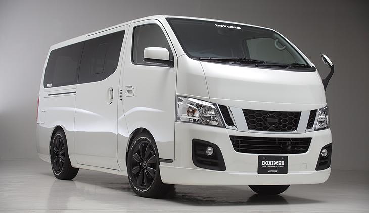 キャラバン NV350用(製品情報) |ボクシースタイル 公式ウェブサイト